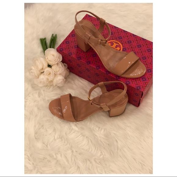 dce6172dbcb4de Tory Burch Laurel Ankle Strap Sandals NWT 